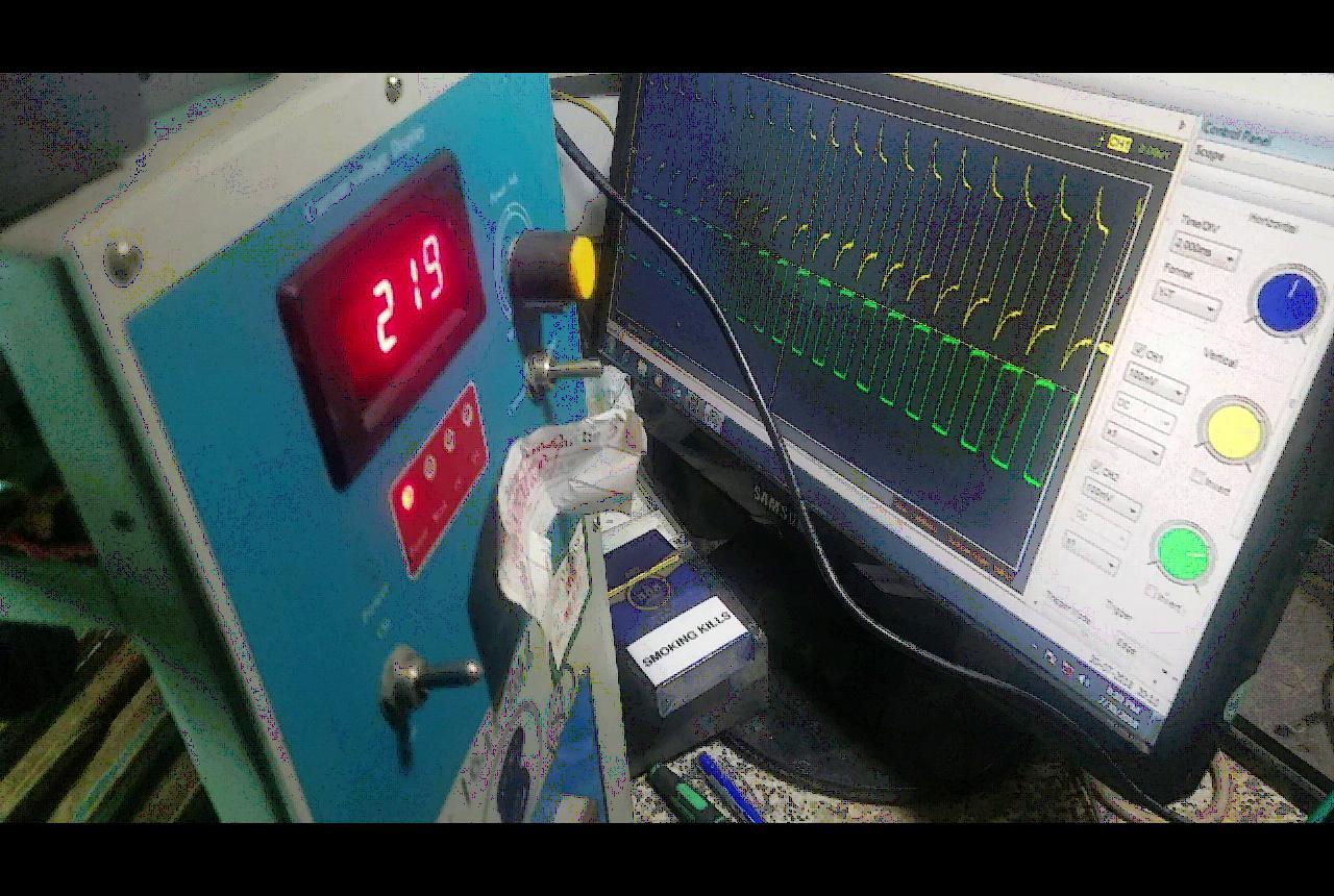 Điện áp đặt lên hai đầu cuộn cảm ứng
